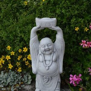 Buddha Statue Garden Statues Zen Garden Concrete Buddha Etsy