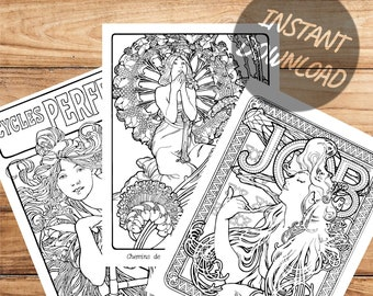 mucha coloring pages | de mucha lucha colouring pages (page 2 ... | 270x340