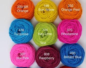 Bright Color Rug Yarn
