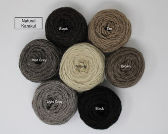 Natural Karakul Rug Yarn
