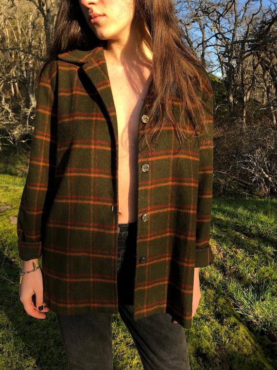 Perfect Plaid Overcoat