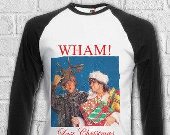 Last Christmas Wham George Michael Men Women Unisex Top Sweatshirt Hoodie 2265
