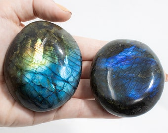 Select Which Labradorite is Calling to You. HIGH Quality Intuitively Selected Polished Labradorite. Crystal of Magic & Psychic Abilities.