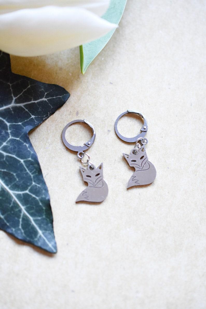 Little Prince \u2022 Tame Me Stainless Steel Earrings