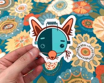 Lucy sticker