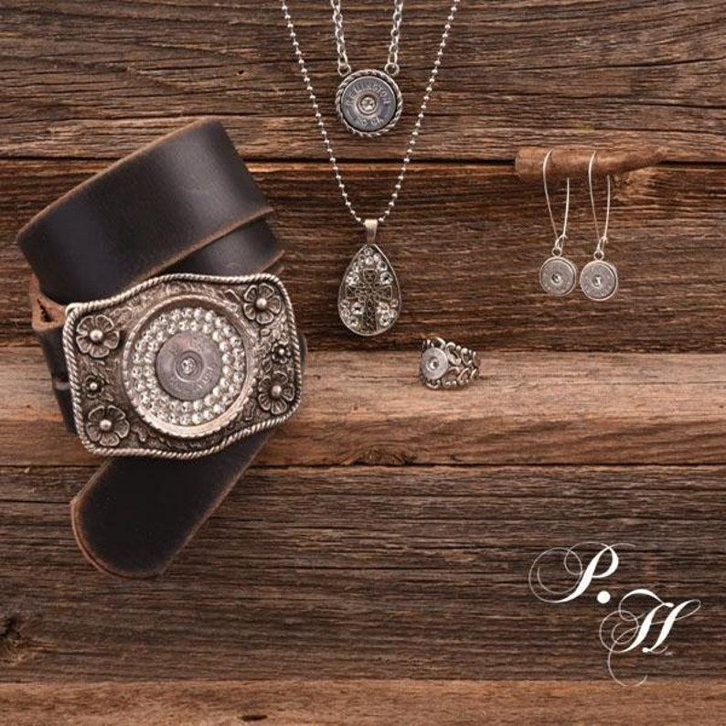 Round Rebel/' 20 Gauge Silver Necklace