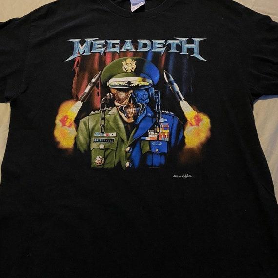 Megadeth 2005 vintage shirt