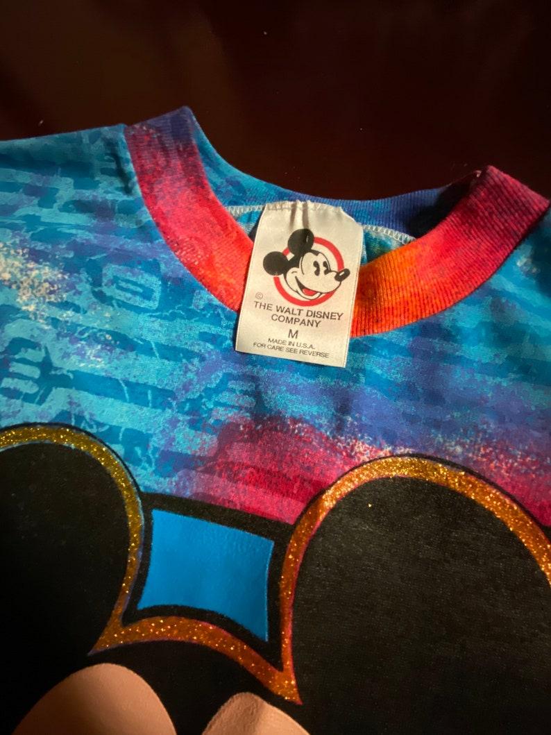 Vintage Mickey Mouse Tie dye shirt
