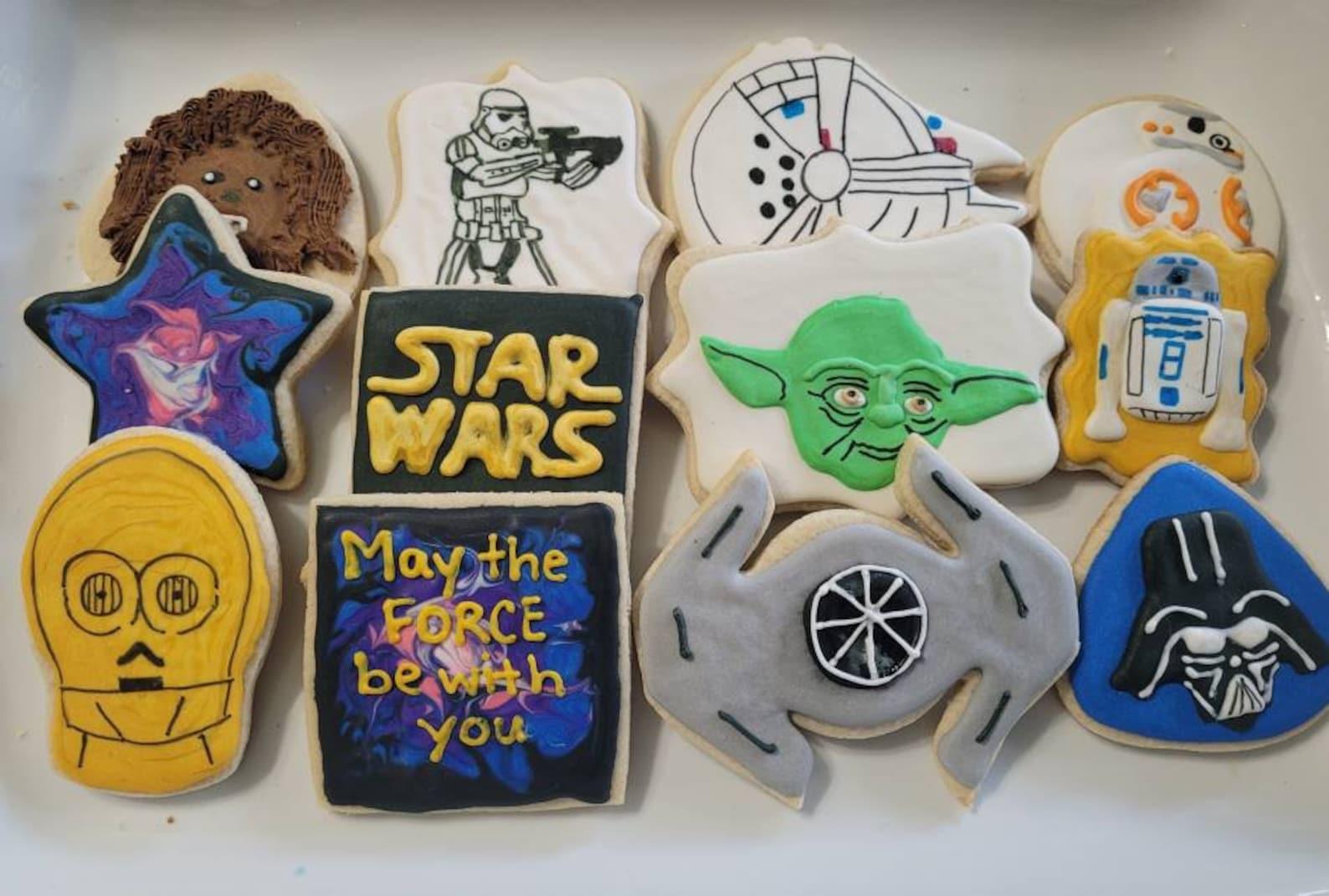 Vegan Star Wars Sugar Cookies