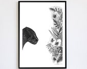 Instinct Limited Edition numbered and signed 30x40 cm Poster Poster Panther