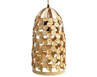 Hanging lamp WAW nr.3 / Plywood lamp WAW nr.3
