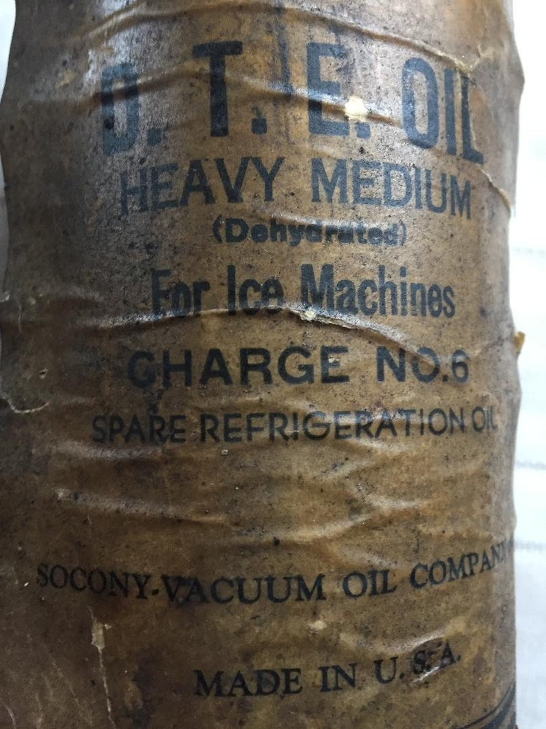 Socony Vacuum Oil Company Container