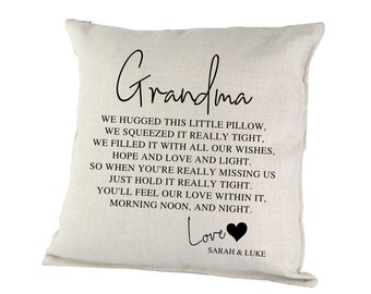 Grandparents pillow | Etsy