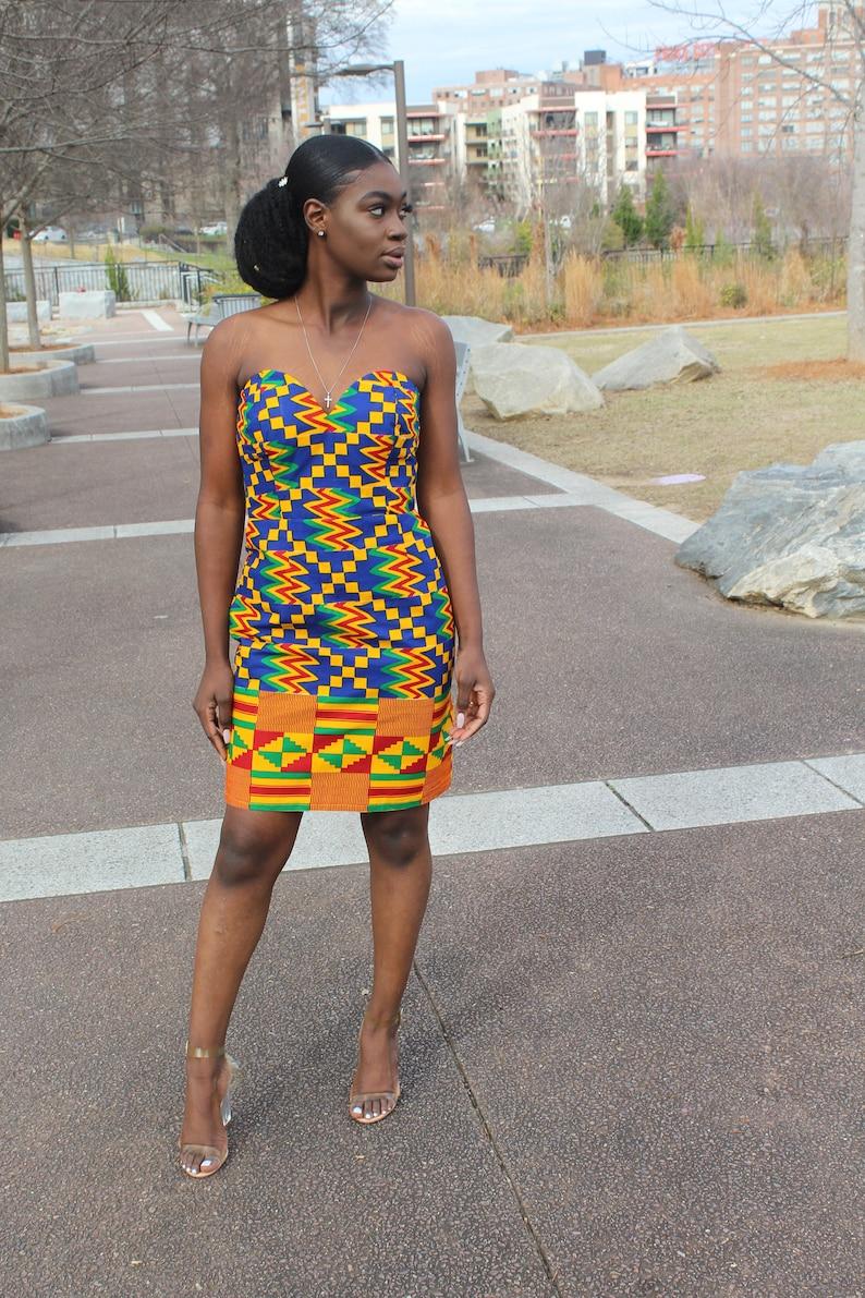 African Print Dress Evening Dress Formal Dress SALE