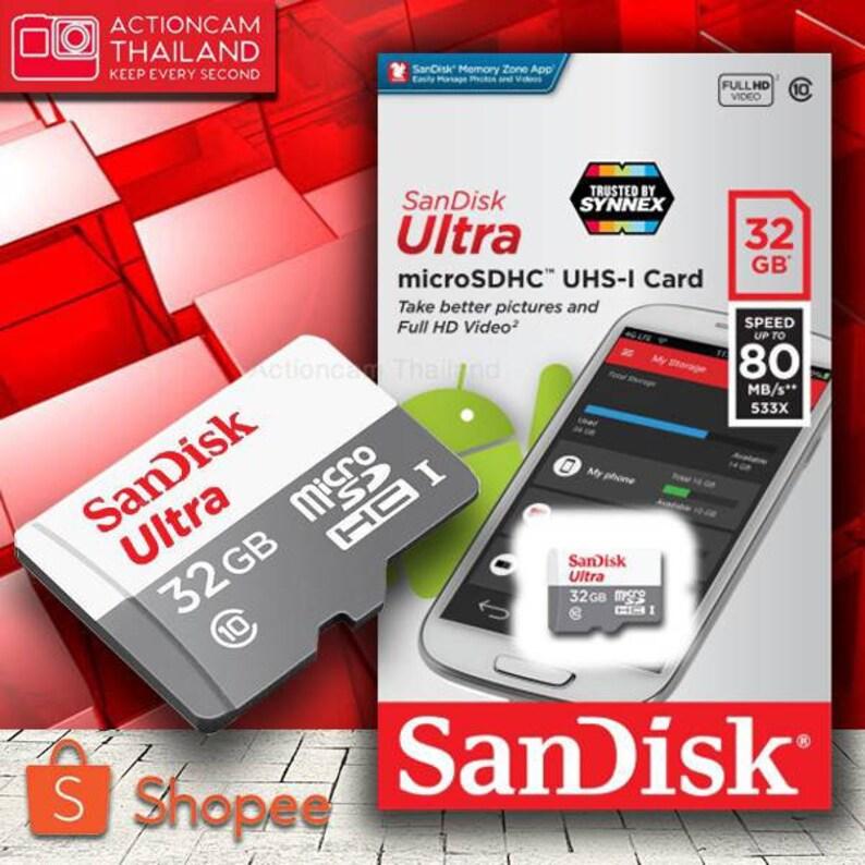 Sandisk Sd Micro Card  32 GB Class 10  Sd card