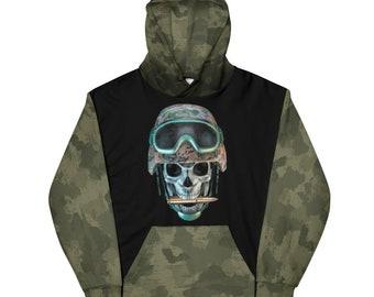 Camo Skull Hoodie