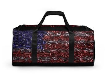 USA Flag/Ammo Duffle bag