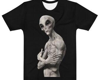 Vendetta Brand Alien Pose Men's T-shirt S-2XL