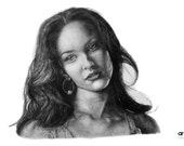 Megan Fox Portrait (original)