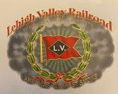 Three Lehigh Valley Railroad NOS Cigar Box Labels