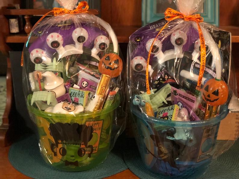 Halloween Themed Gift Baskets
