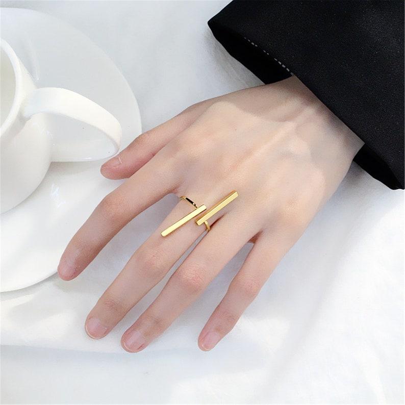 Geometric Ring,Engagement Ring,Proposal ring,Wedding Ring,Adjustable Ring,Promise Ring for Love,Art Decor Ring