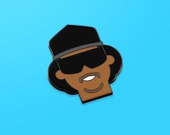Eazy E hard enamel pin, hip hop gift