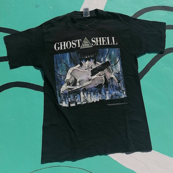 Vintage Super Rare 1995 Ghost In The Shell Tshirt