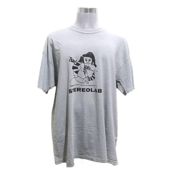 Vintage Rare Stereolab Band Tshirt