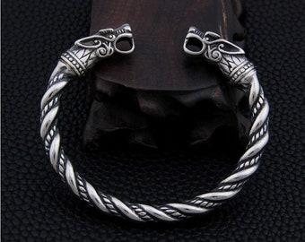 Bracelet VIKING SHIELDS Altbronze Viking Shields Viking Jewelry Gothic Nordic Germanenarm Schmuck