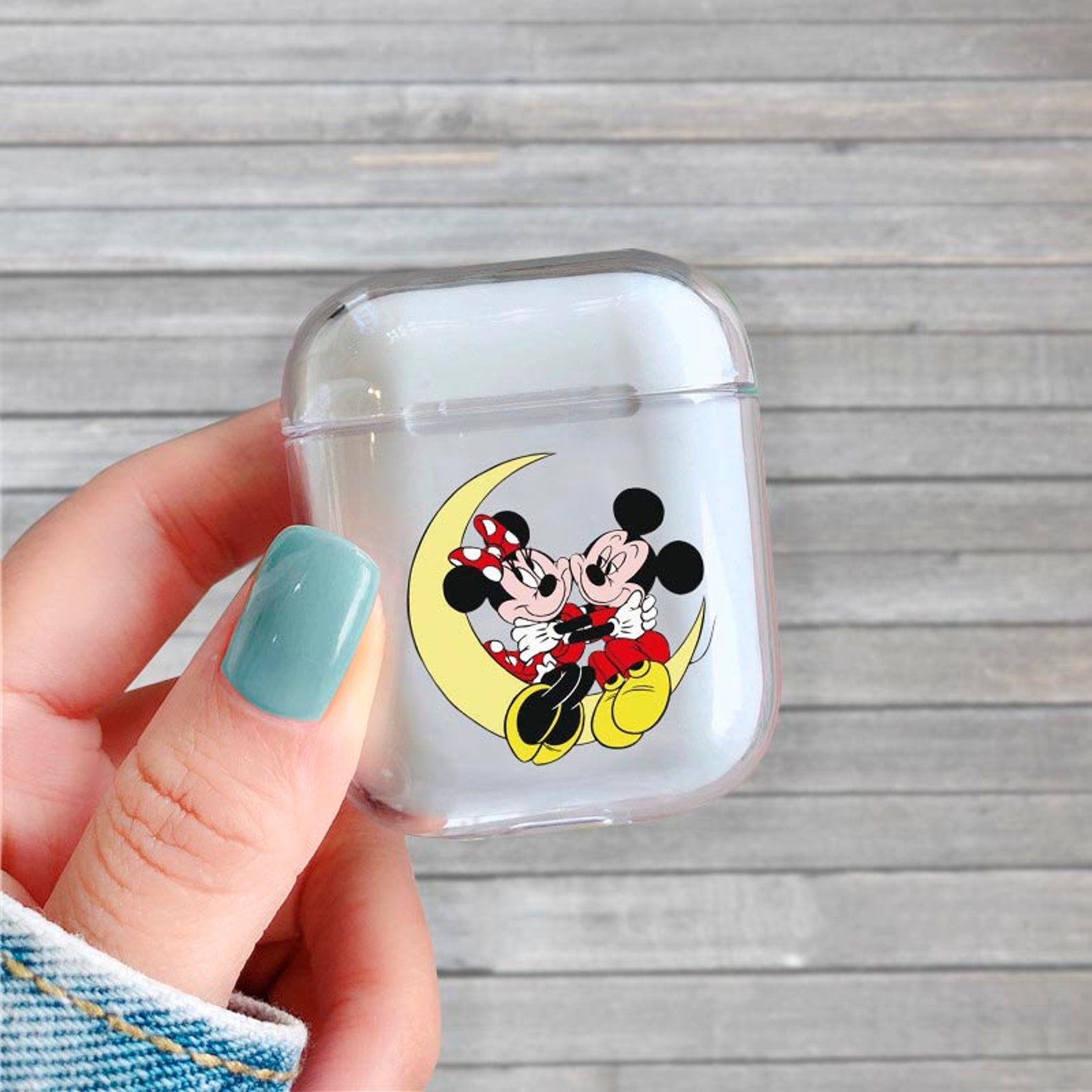 Romantic Disney Couples AirPods Cases