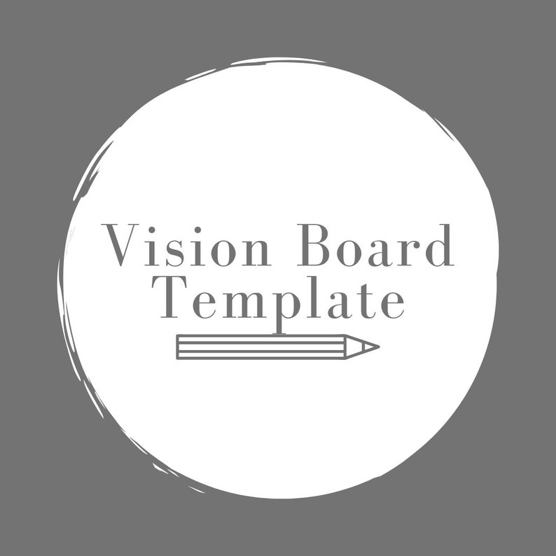 Vision Board Template image 0