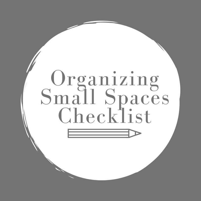 Organizing Small Spaces Checklist image 0