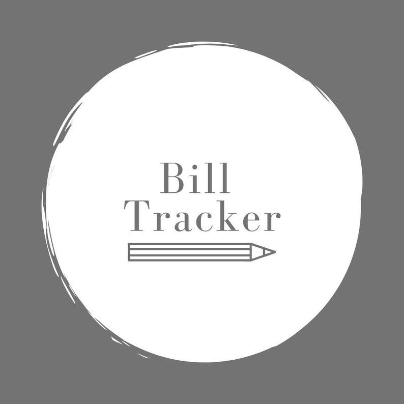 Bill Tracker image 0