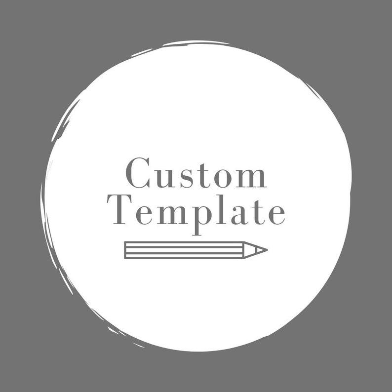 Custom Template image 0