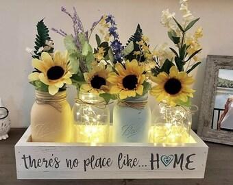 Sunflower Centerpiece Etsy
