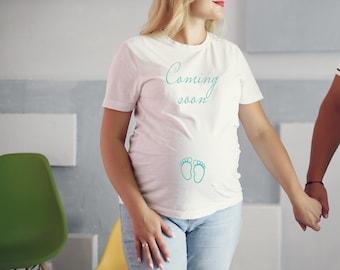 ZWILLINGE JUNGEN Schwangerschaft T-Shirt Top Blusen Baby Shower Geschenk