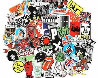 Rolling Stones vinyl sticker for skateboard luggage laptop tumblers c