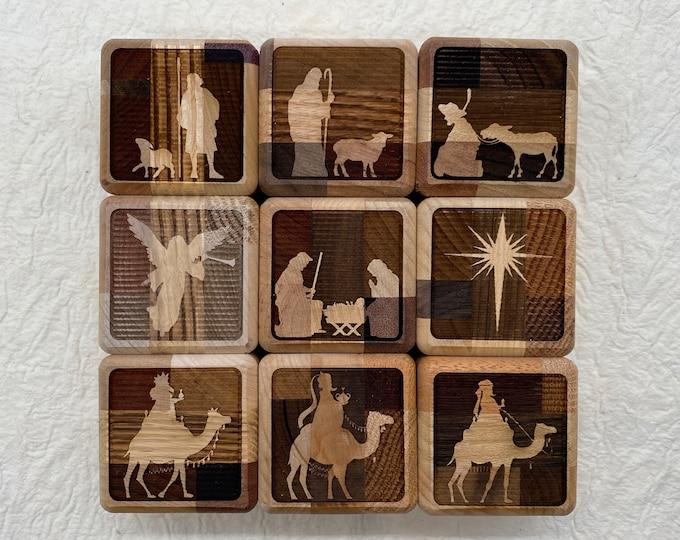 Nativity scene, Nativity blocks, children's Nativity scene, Nativity blocks for children, Christmas for children, childrens blocks