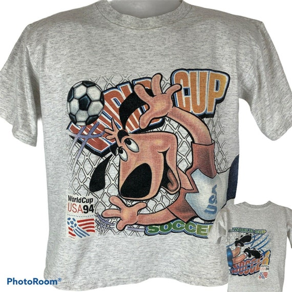 American style T-shirt size XL World cup USA 1994 Squad 94 football soccer cotton shirt top tee trikot vintage retro old 90s white