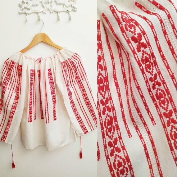 Romanian vintage blouse