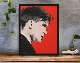 Peaky Blinders wall art stencil,Strong,Reusable,Recyclable