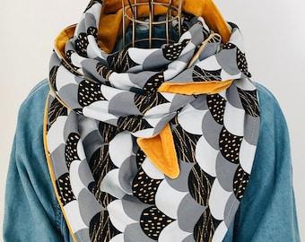 "Bio XL triangular cloth ""Gitti"" made of cotton"