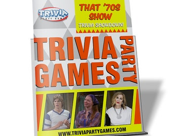 That /'70s Show Trivia Party Game