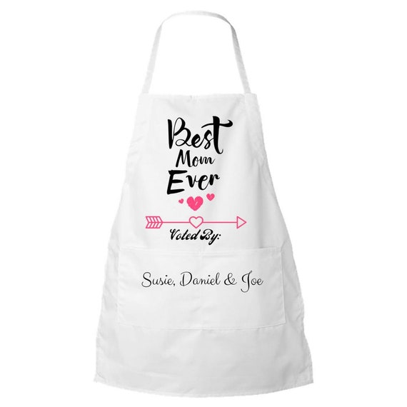 Customized Apron personalized kitchen items Personalized Gift Cake Apron Baking Accessories Kitchen and Dining Gift for Mom