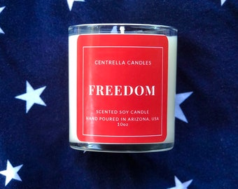 FREEDOM Soy Candle-Made In USA
