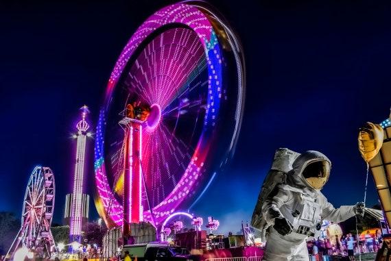 Astronaut at the fair