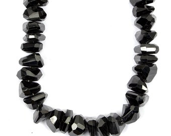 we suggest using 0.10in 0.25mm wire SALE 8.5 6.5mm Black Spinel beads sprb01