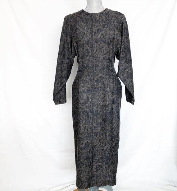 1986 Vintage Zapata Toronto Grayish Wool Dress