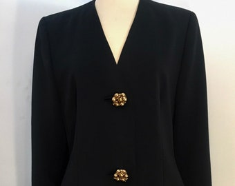 GENNY!! Vintage 1980s rare /'Genny/' by Gianni Versace reptile print asymetric blouse  Made in Italy